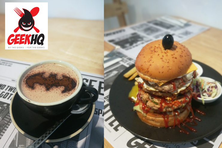 GeekHQ  - Home to the Biggest Burger in Town